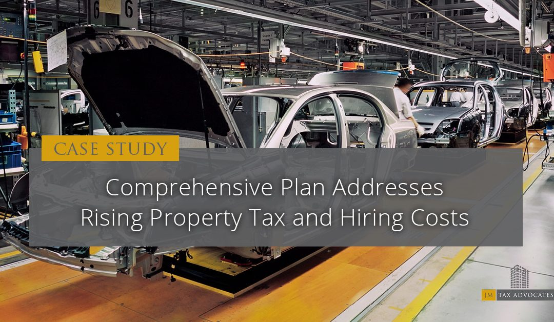 Comprehensive Plan Addresses Rising Property Tax and Hiring Costs